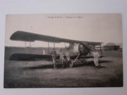 Cpa D'un Avion Salmson Au Départ.  Camp D'Avord Cher 18 - Ausrüstung