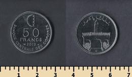 Comoros 50 Francs 2013 - Comorre