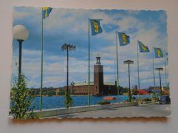 D172896  Sweden Sverige  -Stockholm   Cancel Stockholm Skansen 1966 - Suède