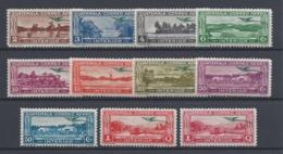 GUATEMALA 1935 QUETZAL AIR MAIL Nº 30/38A **/* MH /MNH - Guatemala