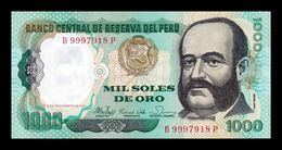 Perú 1000 Soles De Oro 1981 Pick 122 SC UNC - Perù