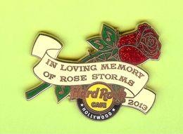 Pin's Hard Rock Café Hollywood In Loving Memory Of Rose Storms - HRC109 - Musik