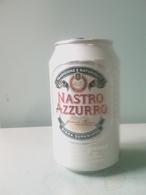 Lattina Italia - Birra Nastro Azzurro - 33 Cl. - ( Lattine-Cannettes-Cans-Dosen-Latas ) - Latas