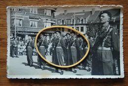 3215/ 2°Bataillon Des Chasseurs Ardennais-BASTOGNE-Pl.Mc Auliffe-Café Du Midi-Photo Carte Gevaert - Regimente