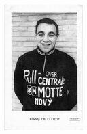 CARTE CYCLISME FREDDY DE CLOEDT TEAM PULL OVER 1968 - Ciclismo