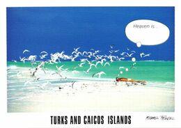 Turks And Caicos Islands, Beach View - Turks- Und Caicosinseln