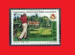 Italy 2003 Golf Rome Acquasanta Circle - Golf
