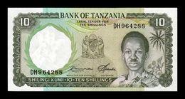 Tanzania 10 Shillings 1966 Pick 2e Sign 5 SC UNC - Tanzania