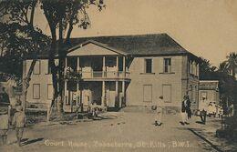 Basseterre St Kitts Court House BWI - Saint-Christophe-et-Niévès