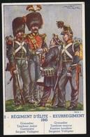 REGIMENT D'ELITE  1845 - Regimente