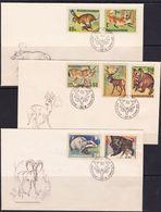 Czechoslovakia, 1966, Fauna, FDC - Sin Clasificación