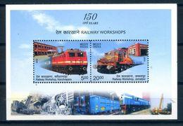 India 2013 / Railways Trains MNH Trenes Züge / C8807   5-54 - Trains