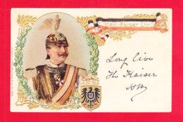 Milit-584A59  Carte Gaufrée, Litho, Heil KAISER DIR, Cpa Précurseur BE - Personen
