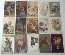 LOT DE 64 CARTES FANTAISIES DIVERS - 100 - 499 Postkaarten