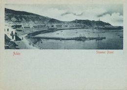 Pioneer Short Size Card Steamer Point  . Undivided Back - Yemen