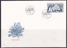 Czechoslovakia, 1991, Penguins, FDC - Pingouins & Manchots