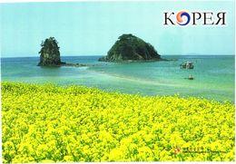 South Korea:Kkotski Beach And Rocks Grandmother And Grandfather - Corea Del Sud