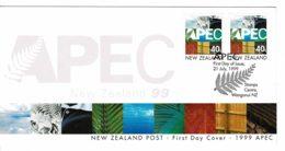New Zealand 1999 APEC FDC - FDC