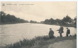 Lanklaar - Lanklaer (canal) - La Pêche Au Grand Bassin - Collection Hôtel Beau Séjour, Lanklaer - 1935 - Dilsen-Stokkem