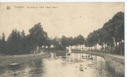 """Lanklaar - Lanklaer - Vue Prise De L'Hôtel """"Beau Séjour"""" - Collection Hôtel Beau Séjour - 1923 - Dilsen-Stokkem"""