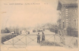 52 - SAINT DIZIER / LE PORT DU FORT CARRE - Saint Dizier