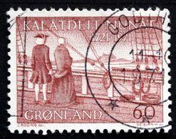 Greenland 1971 Cz.Slania Hans Egede And Gertrud Rask On Board The Håbet.  Minr.77  ( Lot D 2707  ) - Groenlandia