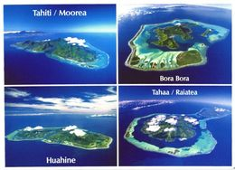 Bora Bora, Tahiti/Moorea, Huahine And Tahaa Raiatea Aerial Views - Französisch-Polynesien