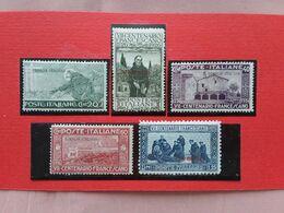 COLONIE ITALIANE - SOMALIA - S. Francesco Nn. 81/85 Nuovi * + Spese Postali - Somalia