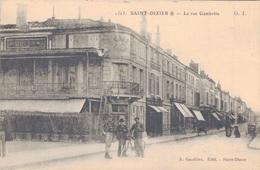 52 - SAINT DIZIER / LA RUE GAMBETTA - Saint Dizier