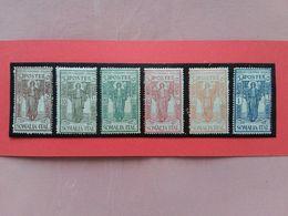 COLONIE ITALIANE - SOMALIA - Istituto Coloniale - Nn. 86/91 Nuovi ** (1 Valore Colla Ingiallita) + Spese Postali - Somalia