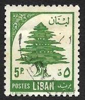 LIBAN  1955 -  YT 121  -  Cèdre -  Oblitére - Liban