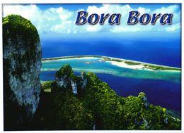 Bora Bora Island:Dizzying Cliffs Of Mount Otemanu - Französisch-Polynesien