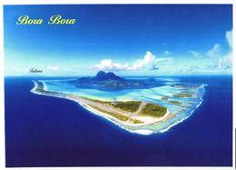 Bora Bora Island:Birds Eye View Of Bora Bora - Französisch-Polynesien