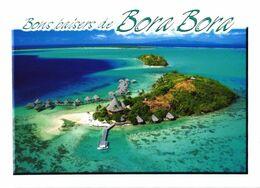 Bora Bora Island:Birds Eye View Of Hotel Sofitel Motu - Französisch-Polynesien