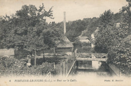 AR 835  /  C P A     -  FONTAINE-LE- BOURG    -  (76)   PONT SUR LE CAILLY - Other Municipalities