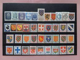 FRANCIA Anni '40/'50 - Lotticino Stemmi Nuovi */** + Spese Postali - Unused Stamps