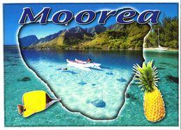 Moorea Island:boat - Französisch-Polynesien