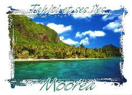 Moorea Island:White Sand Beach Of Pihaena - Französisch-Polynesien