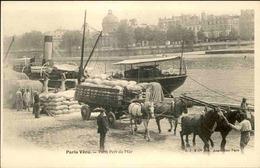 FRANCE - Carte Postale  - Paris Vécu - Paris Port De Mer  - L 66211 - Petits Métiers à Paris