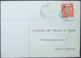 Spain - Card To Portugal 1968 Academy Cordoba - 1931-Heute: 2. Rep. - ... Juan Carlos I