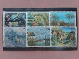 MONACO 1974 - Dipinti Famosi Nn. 967/72 Timbrati + Spese Postali - Monaco