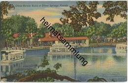 Florida - Silver Springs - Glass-Bottom Boats - Silver Springs