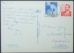 Spain - Postcard To Scotland 1961 Painting El Greco - 1931-Heute: 2. Rep. - ... Juan Carlos I
