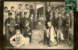 """MILITARIA - Carte Postale Photo - """" La Veuve à Toul """" - Classe 1908 - L 66212 - Personen"""