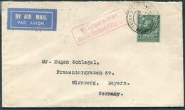 1931 GB London Airmail Cover - Nurnberg Germany. Luftpost Brief (German Air Service?) - 1902-1951 (Könige)