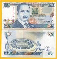 Kenya 20 Shillings P-32 1995 UNC Banknote - Kenia