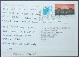Spain - Postcard To Belgium 1989 Expo 92 Barcelona - 1931-Heute: 2. Rep. - ... Juan Carlos I