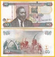 Kenya 50 Shillings P-47e 2010 UNC Banknote - Kenya