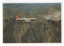 S.A. Boeing 707 Crossing The Drakensberg Mountains South Africa Bokant Die Drakensberge Suid-Afrika - 1946-....: Modern Era