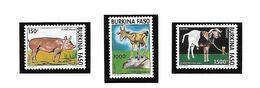 BURKINA FASO POSTE 902/904 PORC CHEVRE MOUTON MNH NEUF SANS CHARNIERE - Burkina Faso (1984-...)